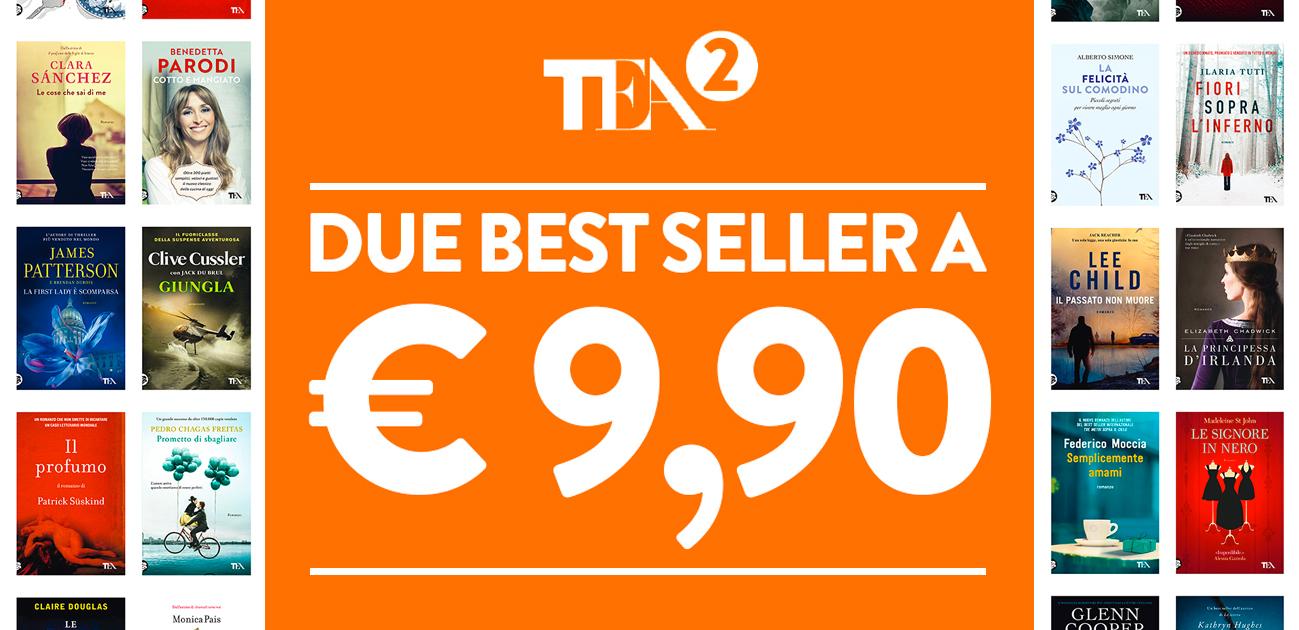 2 Tascabili TEA a 9,90 euro