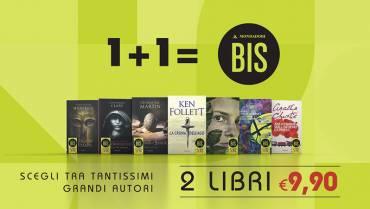 Mondadori BIS: 2 libri a 9,90€