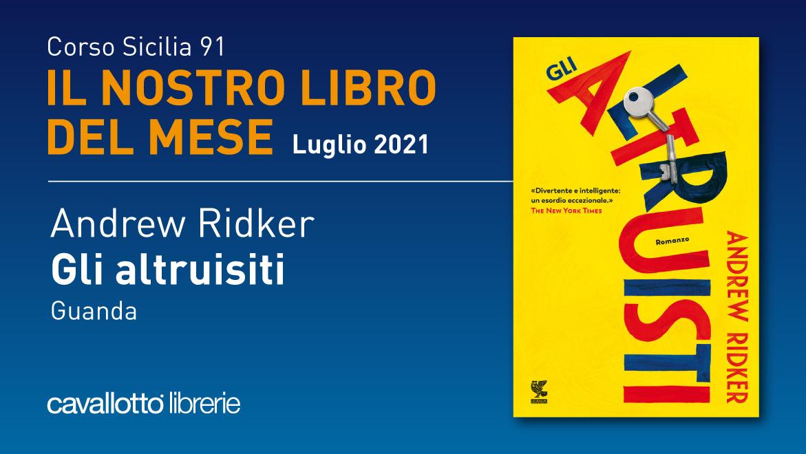 Il libro del mese (Luglio 2021) – Corso Sicilia